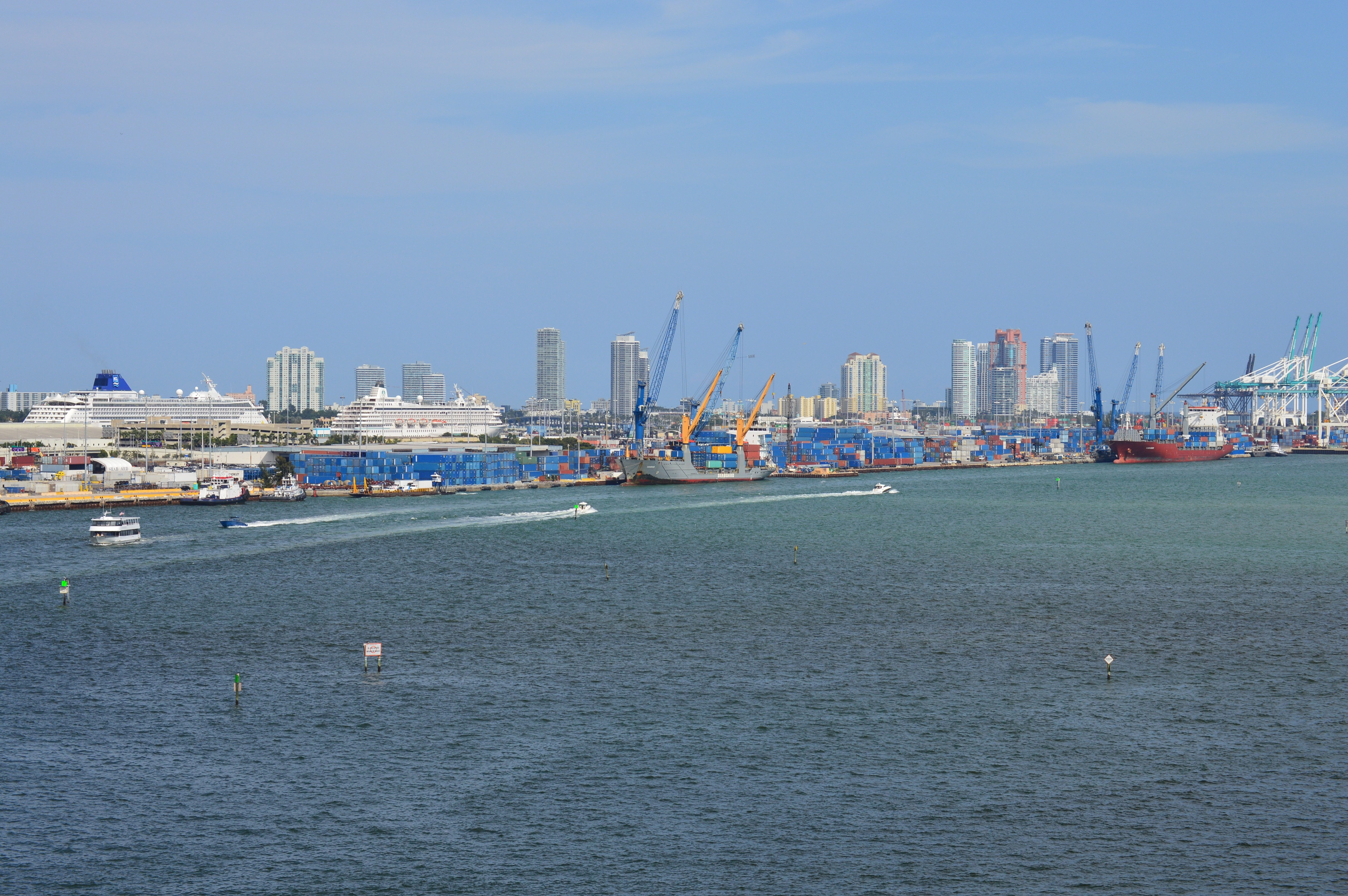 Miami Exports to Latin America & the Caribbean. Miami Port.